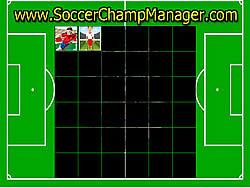 Memory Soccer game