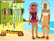 Play African wedding dressup Game