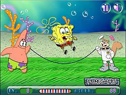 Spongebob Rope Skipping παιχνίδι