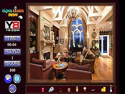 Maglaro ng libreng laro Royal Room Hidden Objects