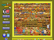 Play Super market hidden objects Game