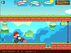 Mario Car Run game