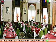 Hidden numbers party hall