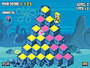 Play Spongebob squarepants pyramid peril Game