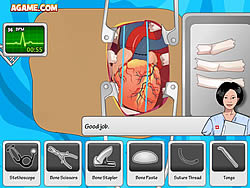 Juega al juego gratis Heart Surgery
