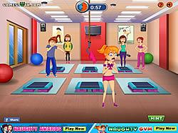 Naughty Gym game