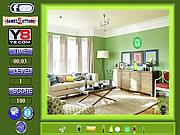 Green room-hidden object Spiele