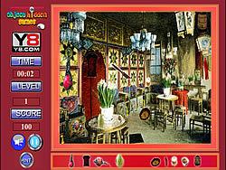 Restaurant Hidden Objects game
