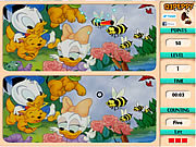 Play Spot 6 diff - donald duck Game