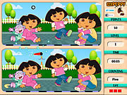 Play Spot 6 diff - dora Game