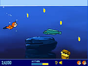 เล่นเกมฟรี Teddy Goes Swimming