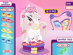 Bratz Babyz Ponyz Styling game