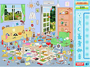 Yellow House Hidden Objects game