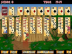 Permainan Forty Thieves Solitaire Gold