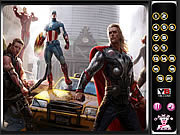 Play Hidden numbers-avengers Game