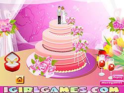 Design Perfect Wedding Cakes game