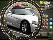 Fast cars hidden alphabets Spiele