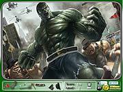Hulk Hidden Objects game