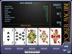 Poker Machine oyunu