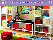 Modern study room hidden alphabets Spiele