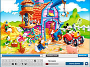 Mickey mouse hidden letters Gioco