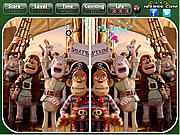 Play The pirates band of misfits - spot the difference Game