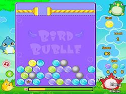 Bird Bubble game