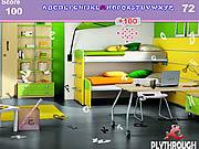 Play Ultra modern kids bedroom hidden alphabets Game