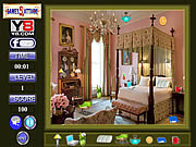 Play Bed room hidden object Game