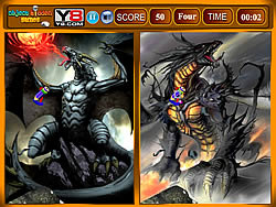 Dragon Similarities Game game