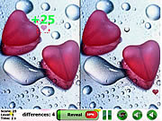 Play City of love 5 differences Game
