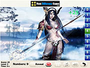 Amazons find numbers Spiele