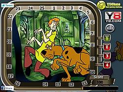 Scooby Doo - Hidden Numbers game