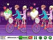 Play Lovers spot the difference Game