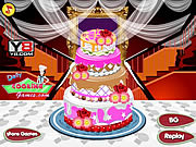 Play Big fat wedding cake deco Game