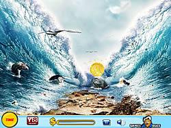 Treasure Hunt-Sinking Ship game