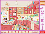 Play Messy kitchen hidden objects Game
