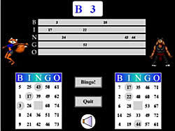 Battle Bingo oyunu