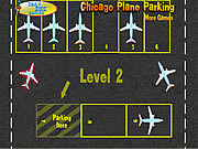 Play Chicago plane parking Game