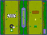 Play Frog race Game