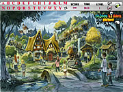 Village Hidden Alphabets game