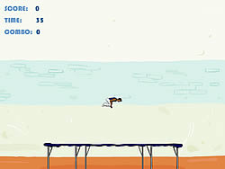 Gioca gratuitamente a Trampoline Game