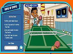 Maya & Miguel Ping pong oyunu