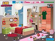 Eva Cute Bedroom Cleaning game