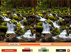 Forest Waterfalls game