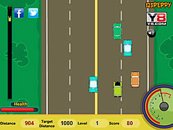 Mr. Bean's Car Drive game