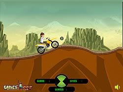 Ben 10 Stunt Ride game