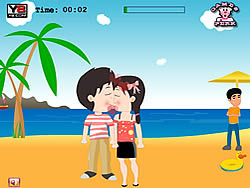 First Kiss game
