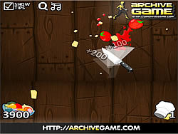 Fruit Ninja Kitchen War game