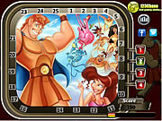 Hercules Hidden Numbers game